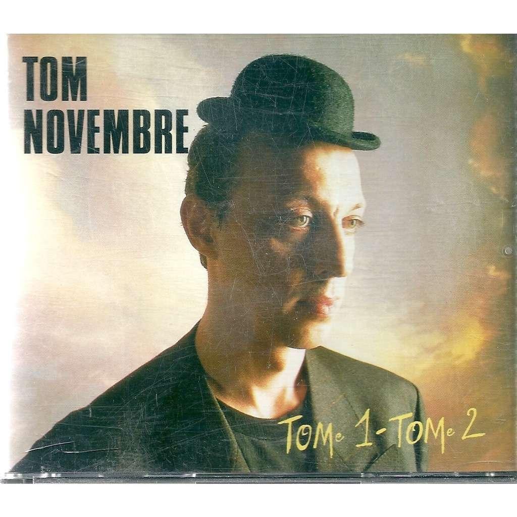 Tom Novembre Tome 1 - Tome 2 - avec livret 32 p