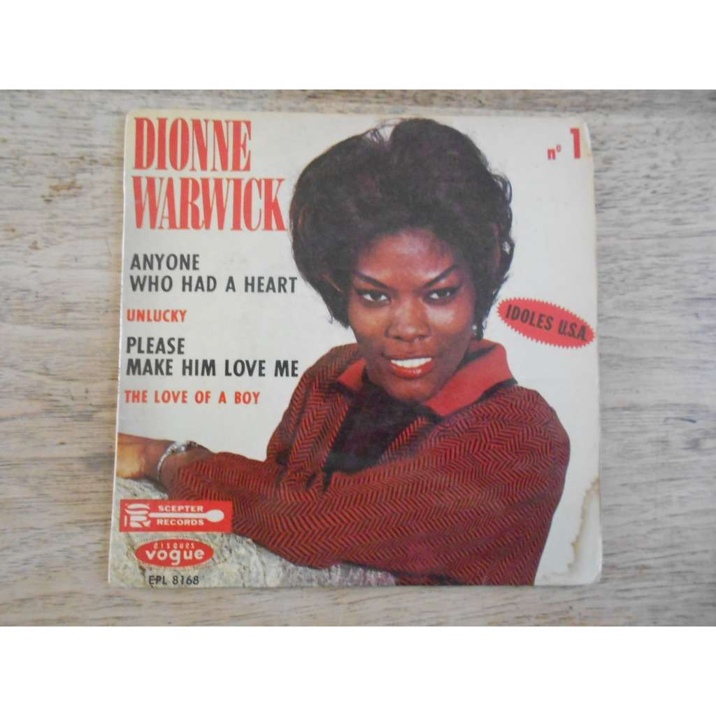 dionne warwick anyone who had a heart - unlucky - please make him love me - the love of a boy