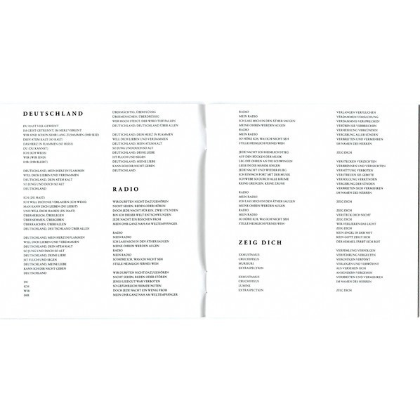 Rammstein Rammstein (New album 2019 - 17 tracks DELUXE edition in jewel case, 6 bonus tracks !!!)