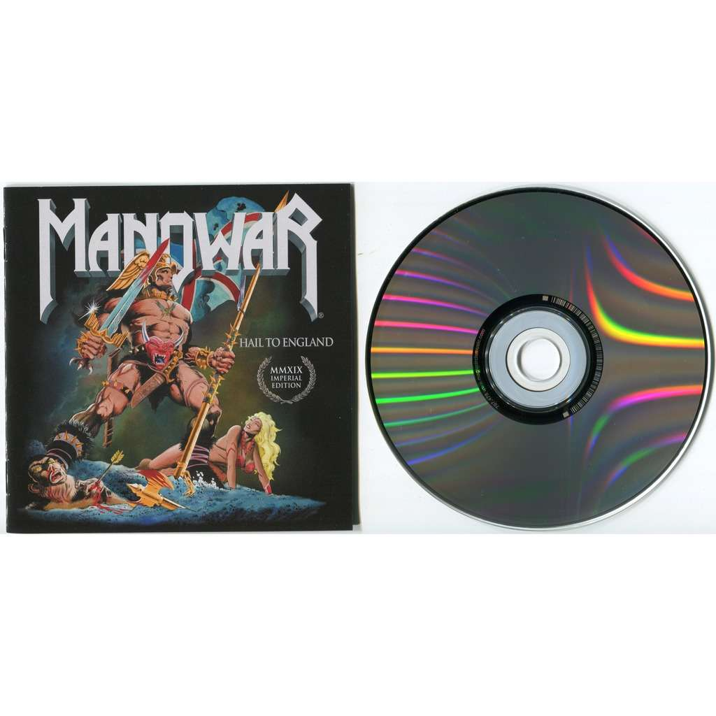 Manowar Hail To England (Imperial Edition MMXIX) CD - New 2019 Remixed & Remastered edition