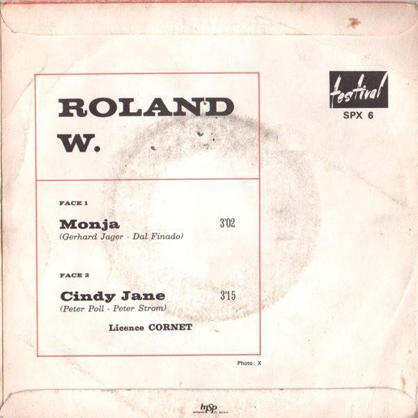 Roland W. Monja (original French press - 1968 - BIEM)