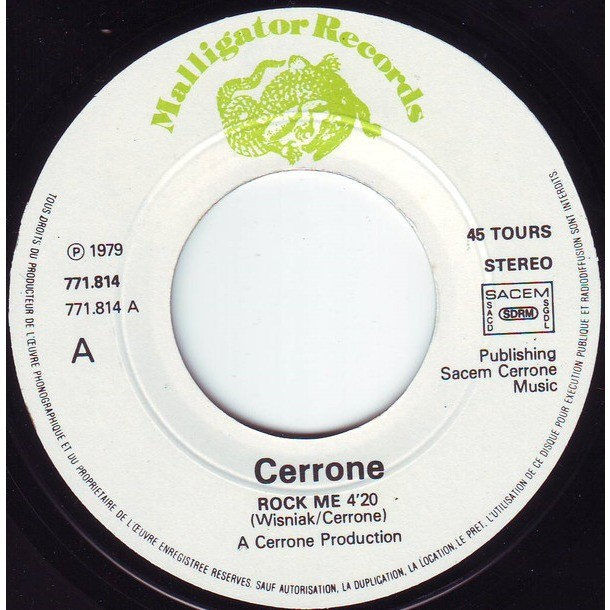 cerrone rock me /Rocket In The Pocket (In Concert)
