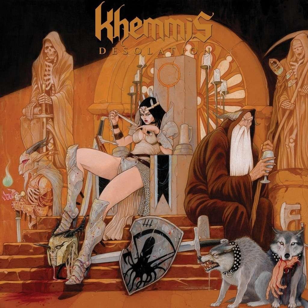 KHEMMIS Desolation. Black Vinyl