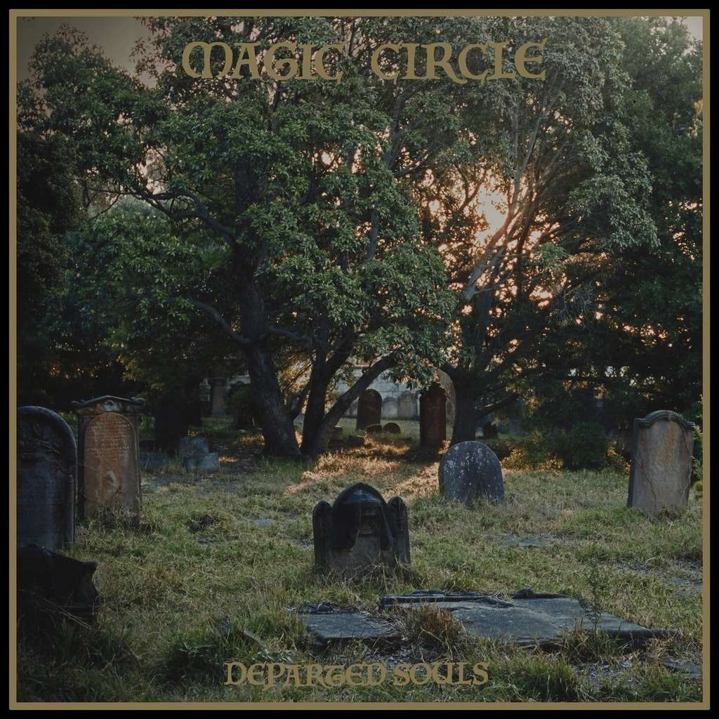MAGIC CIRCLE Departed Souls. Green Marble Vinyl