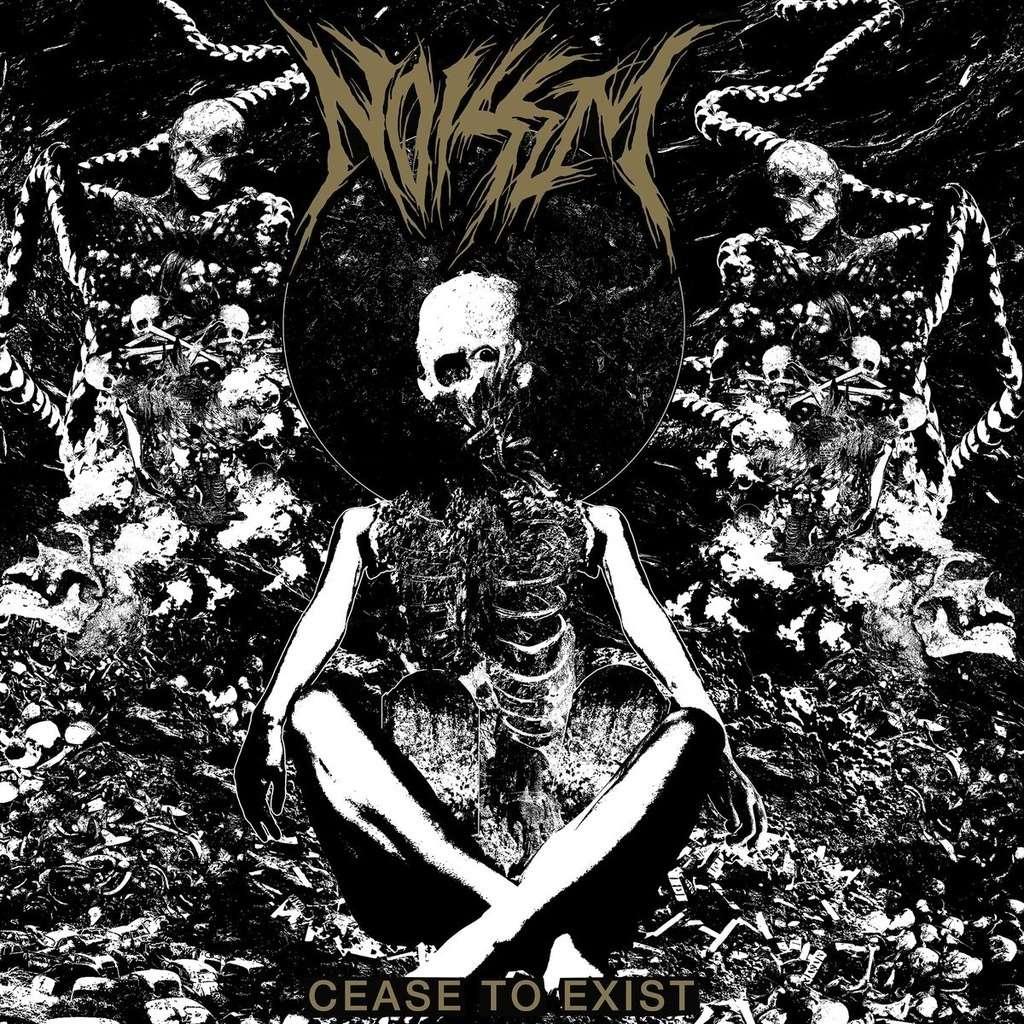 NOISEM Cease to Exist. Black Vinyl