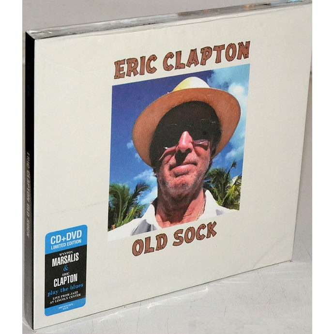 Eric Clapton Old Sock / Wynton Marsalis & Eric Clapton Play The Blues - Live (2013) CD+DVD Digipak Factory-Sealed
