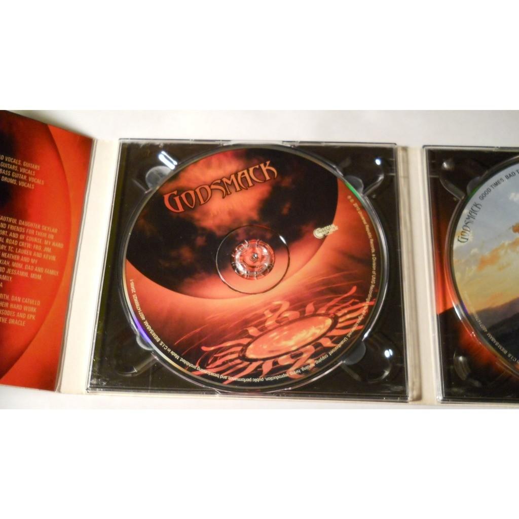 Godsmack The Oracle / Good Times, Bad Times...Ten Yerars Of Godsmack (2013) CD+DVD Digipak Factory-Sealed