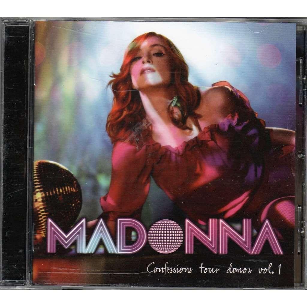 Madonna Confessions Tour Demos Vol.1 (Euro 2006 promo 14-trk CD on WB lbl unique ps)