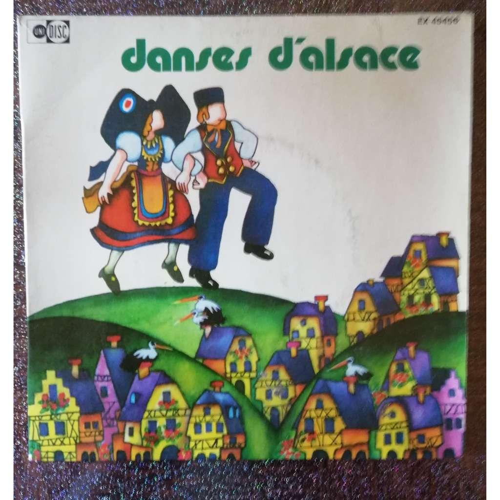 ORCHESTRE FOLKLORIQUE VEHRELE DANSES D'ALSACE .. FREJOHRS' ERWACHE - DE LUSTI XAWEL + 2 .. COMPLET .. AVEC LIVRET