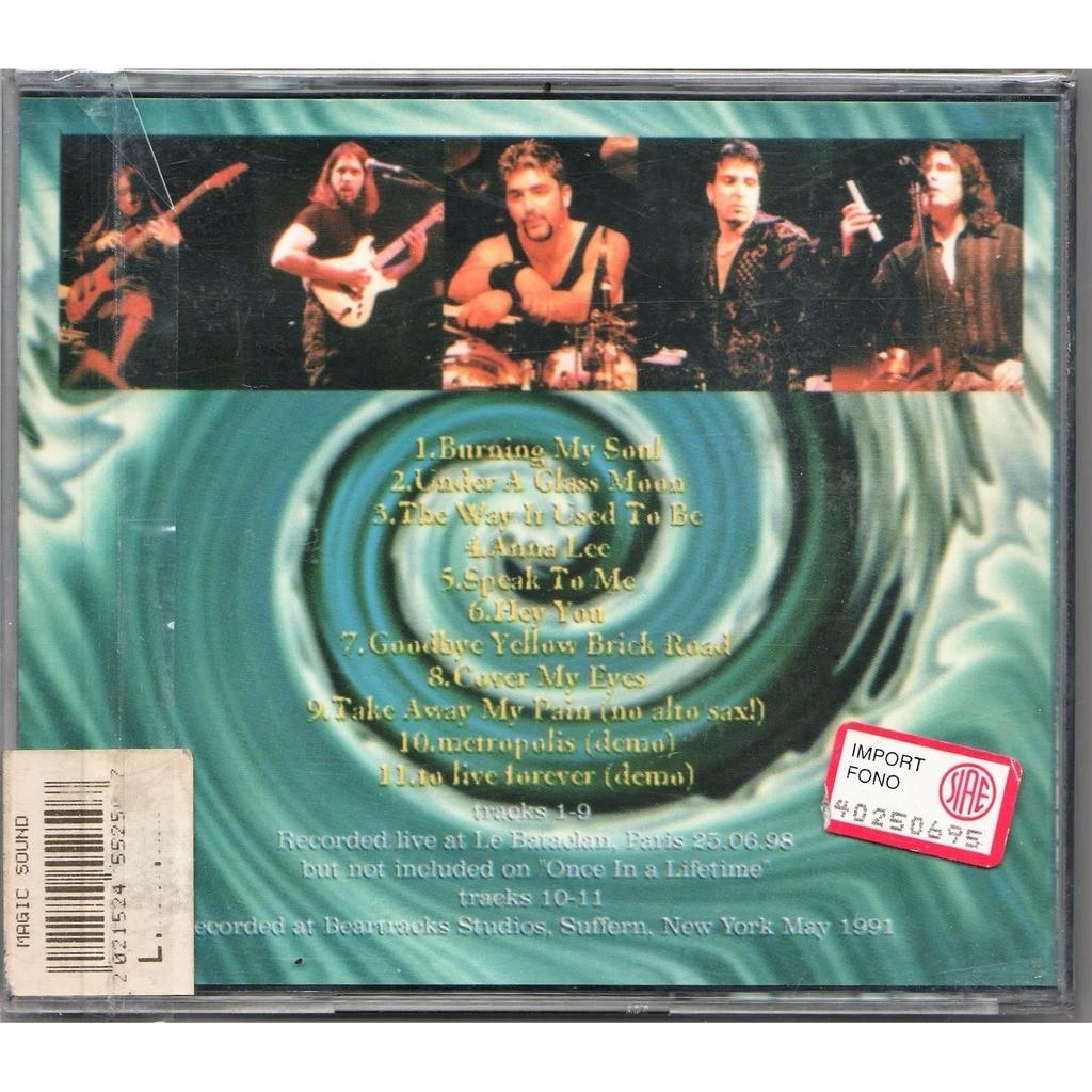 Dream Theater The Lost Paris Tapes (Le Bataclan Paris FR 25.06.1998 etc)