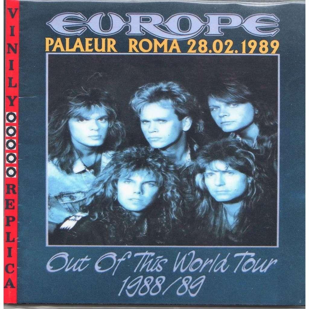 Europe Live At 'PalaEur' (Roma IT 28.02.1989)