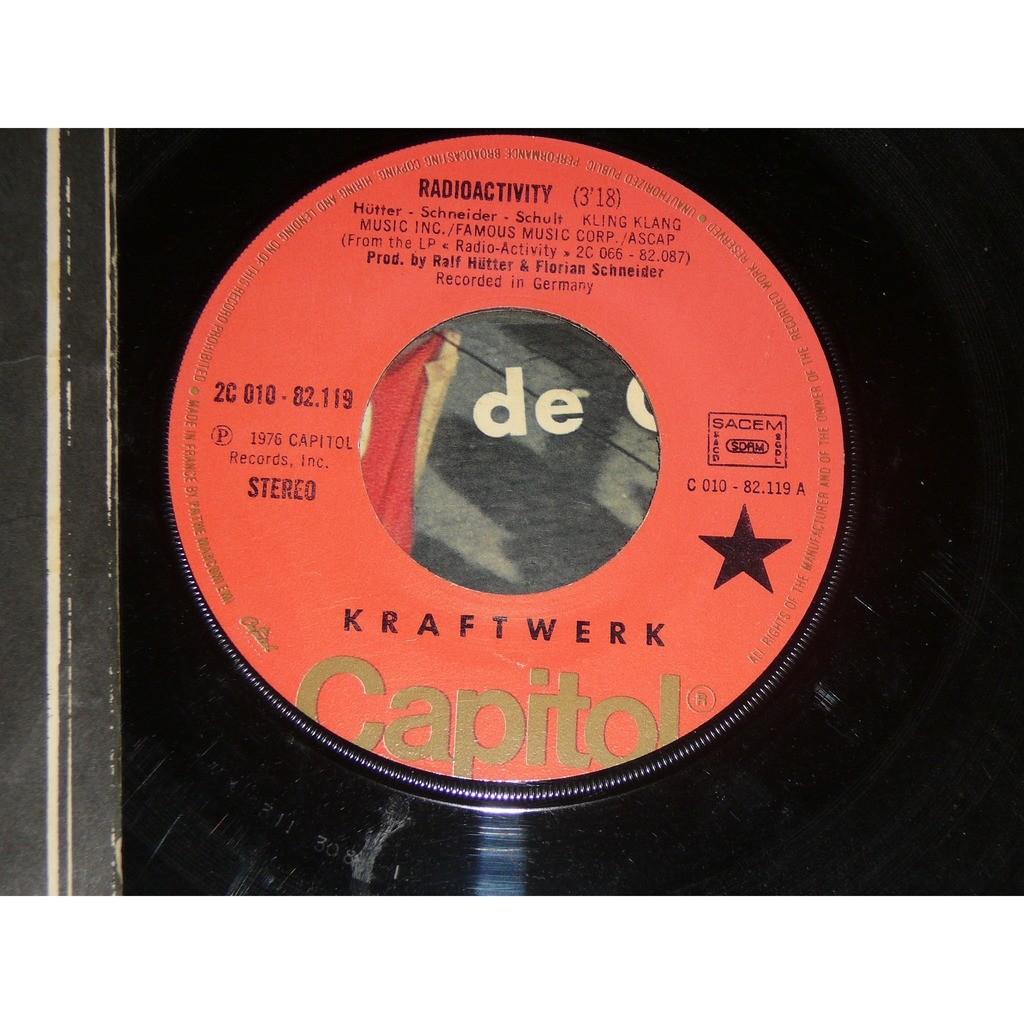 KRAFTWERK RADIOACTIVITY ( INDICATIF EMISSION EUROPE 1 ) - ANTENNA