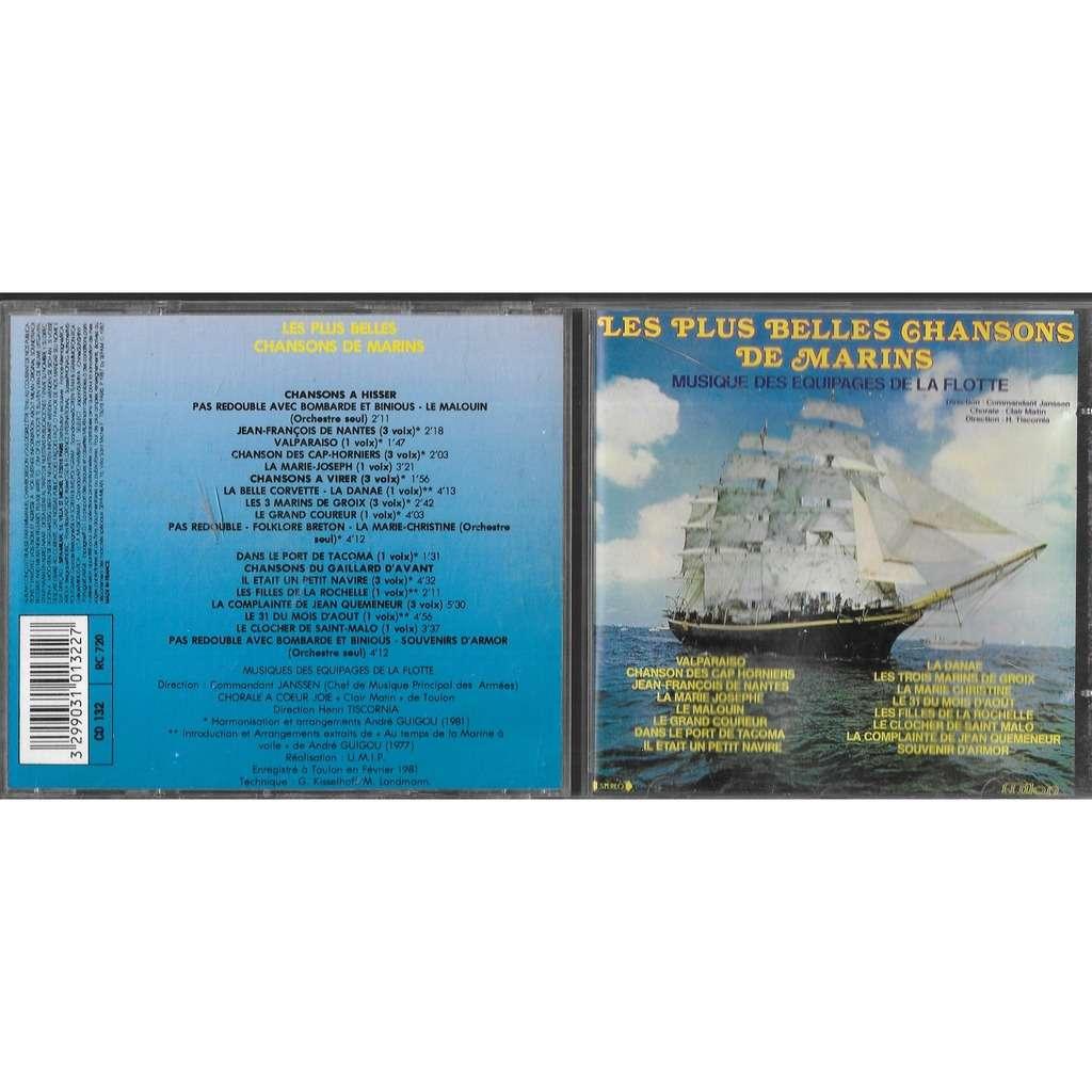 musique des équipages de la flotte les plus belles chansons de marins