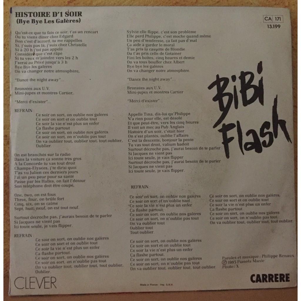Bibi Flash Histoire D'1 Soir