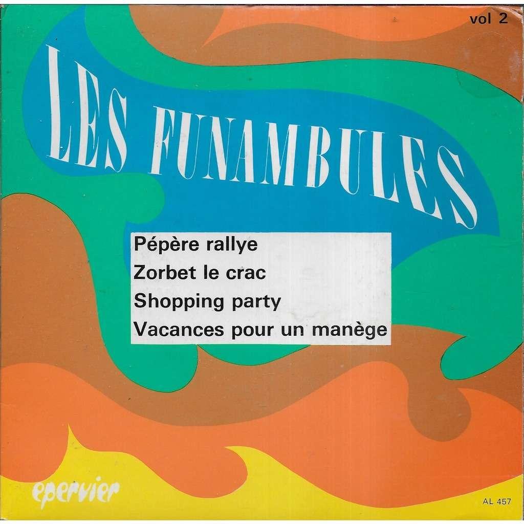 Les FUNAMBULES groupe instrumental Pépère rallye