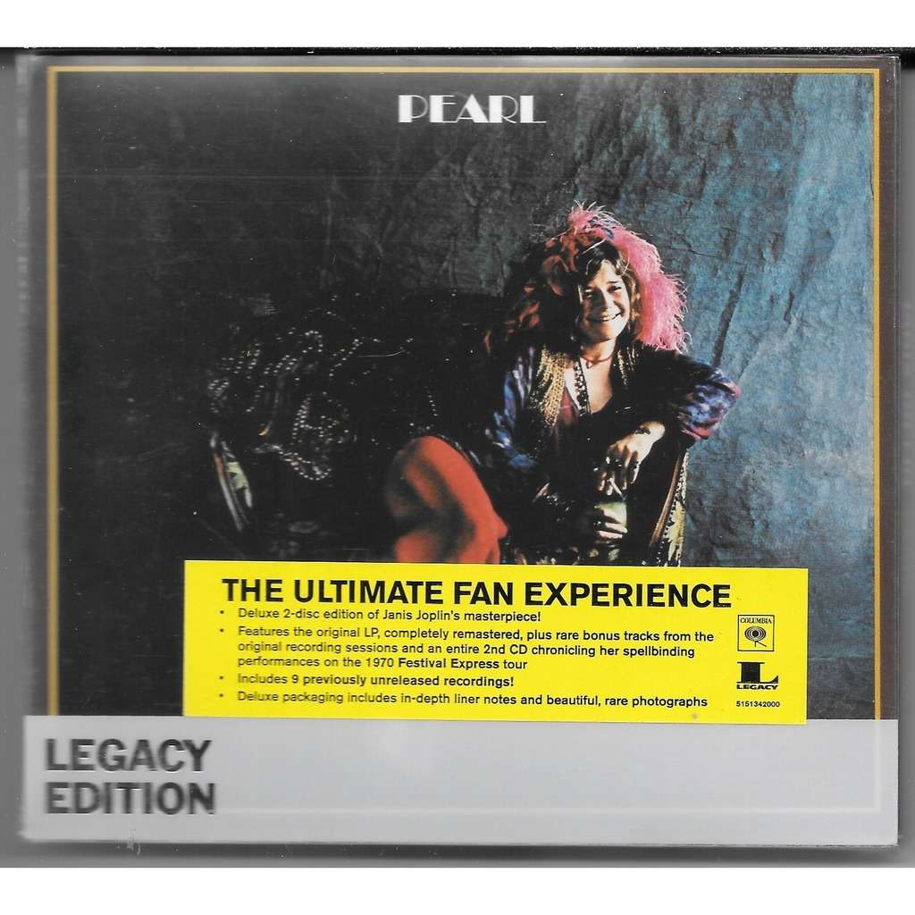 janis joplin pearl / live from the festival express tour, canada 1970