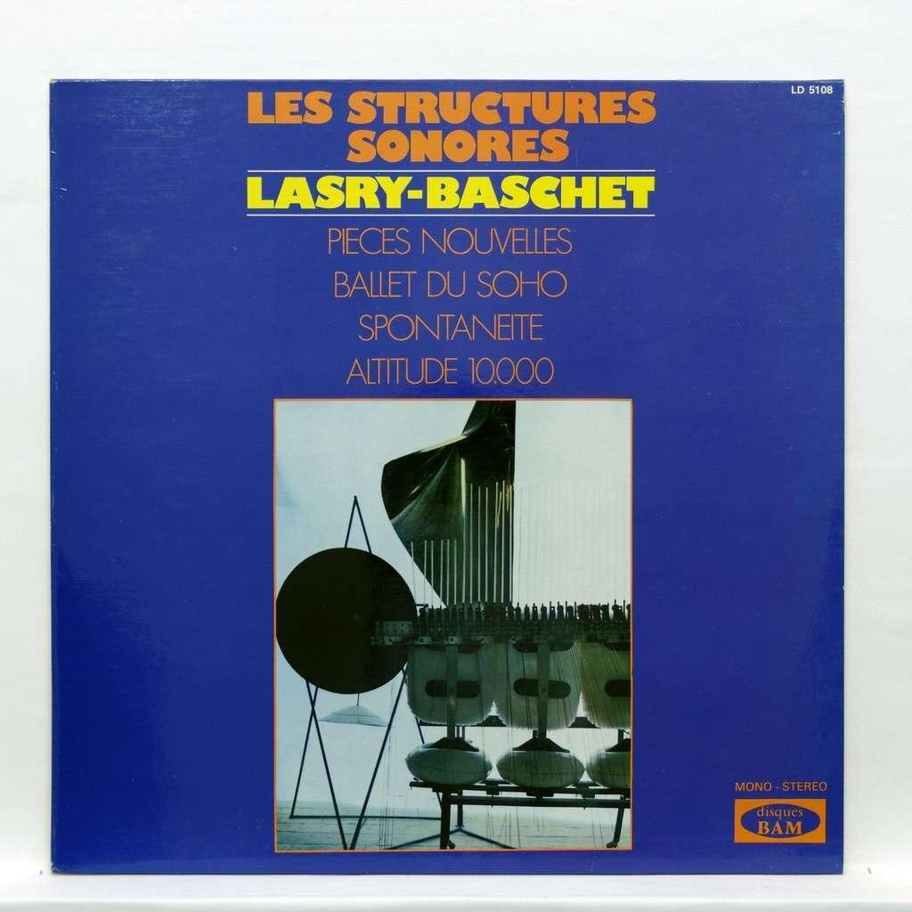 structures sonores lasry-baschet Pièces Nouvelles / Ballet du Soho / Spontanéité / Altitude 10.000