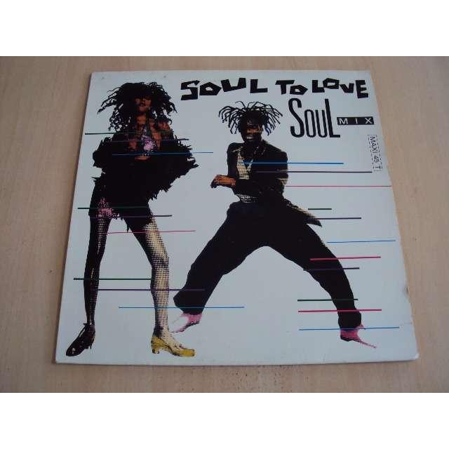 SOUL TO LOVE SOUL MIX (MIX) 1989 FRANCE (MAXIBOX)