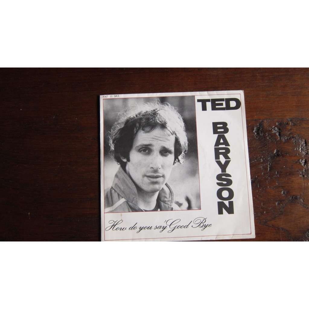 ted baryson how do you say good bye - instrumental