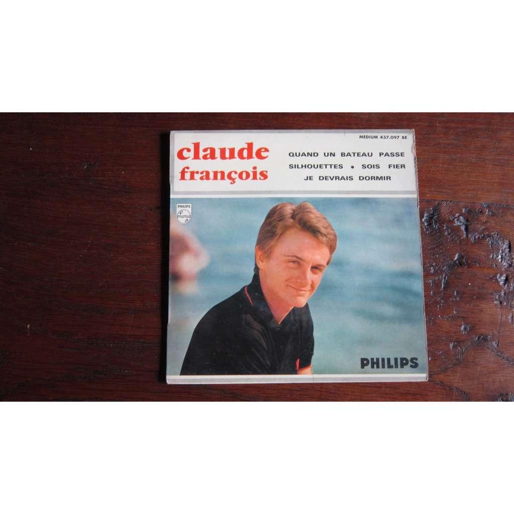 Claude François EP quand un bateau passe +3
