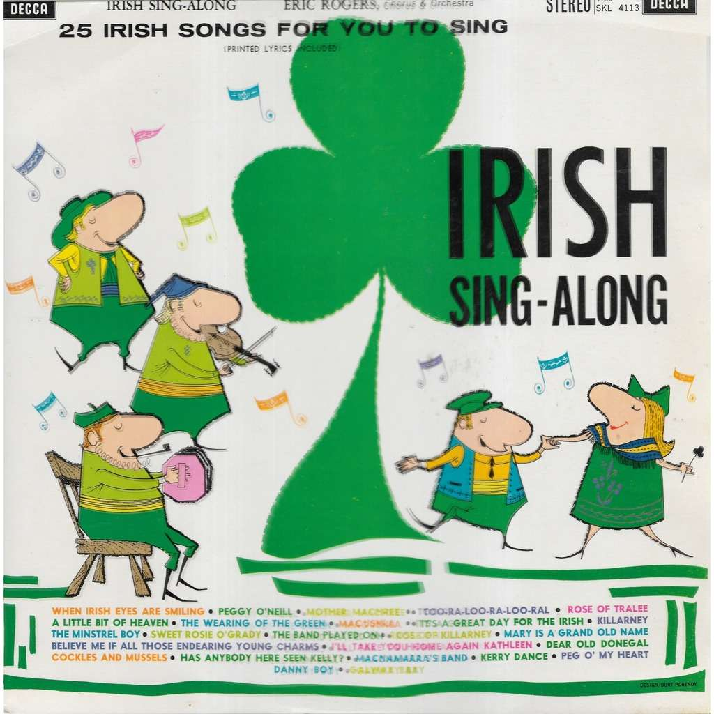 Eric ROGERS Chorus & Orchestra Irish Sing-Along