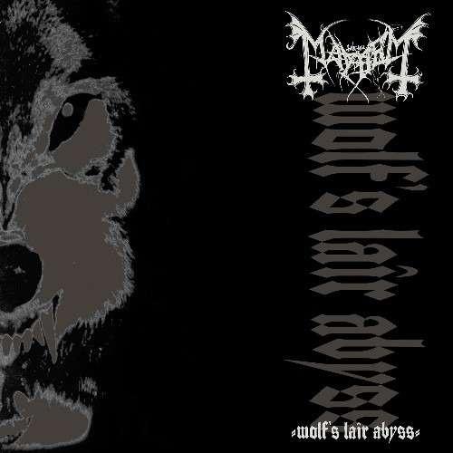MAYHEM Wolf's Lair Abyss. Black Vinyl