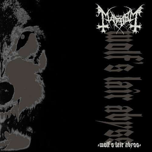 MAYHEM Wolf's Lair Abyss. Silver Vinyl