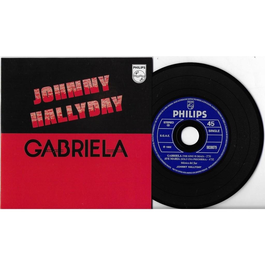 Johnny HALLYDAY Gabriela (en espagnol) / Ave Maria (Solo Una Preghiera) (en italien)