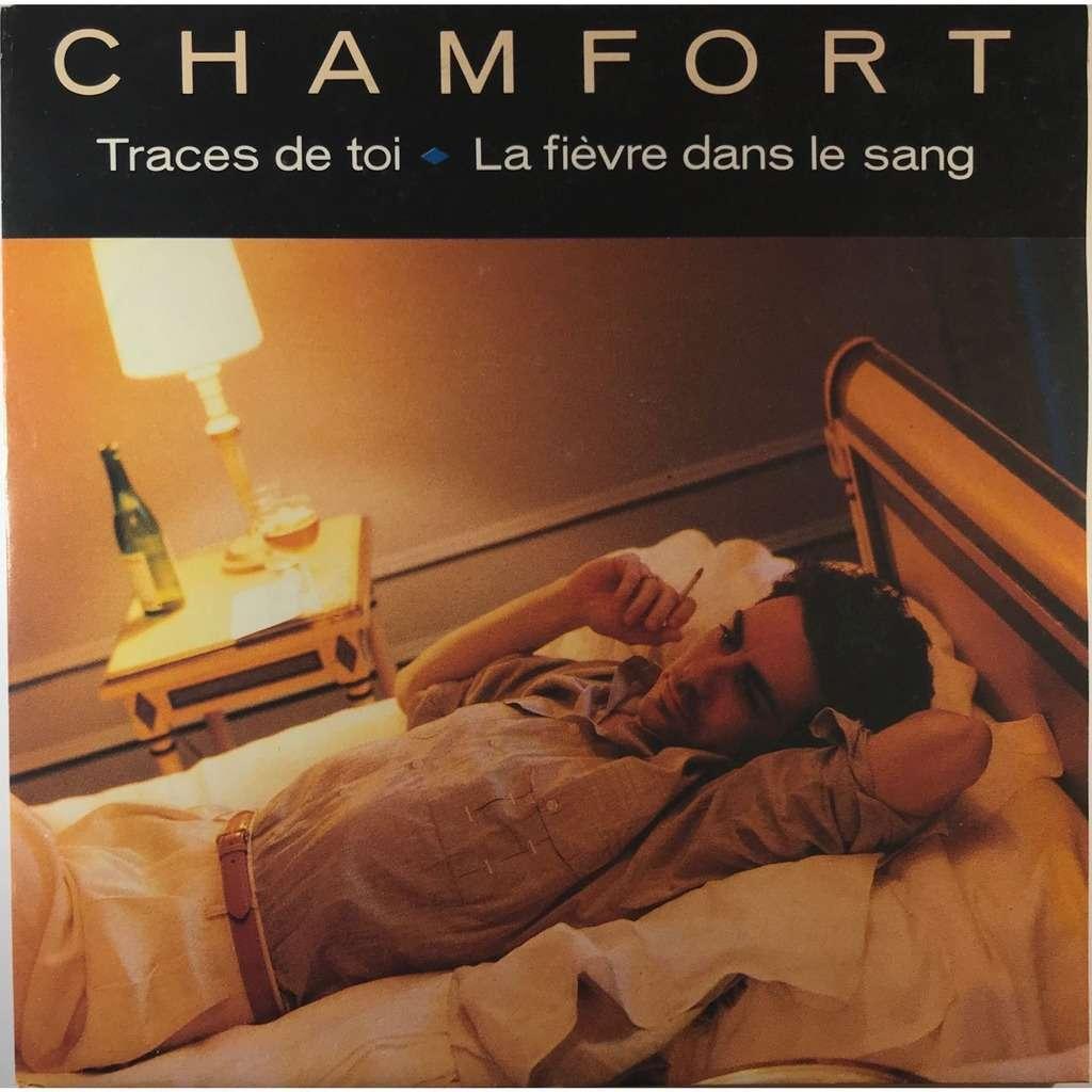 Alain Chamfort Traces De Toi / La Fièvre Dans Le Sang