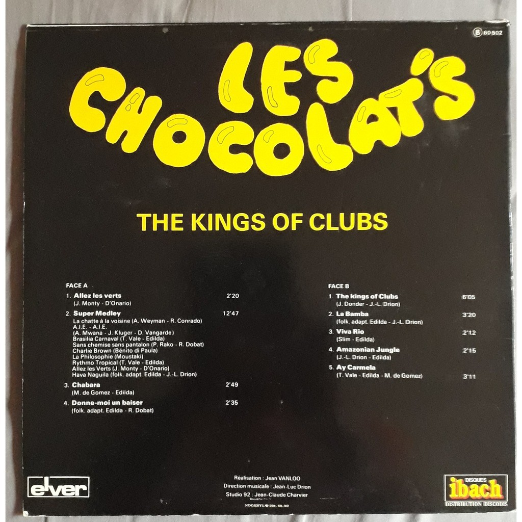 chocolat's the kings of clubs