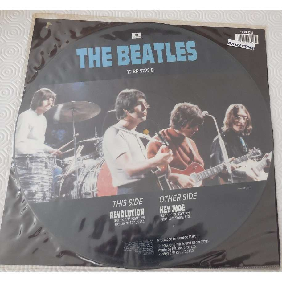 the beatles Hey Jude 12 ' picture disque