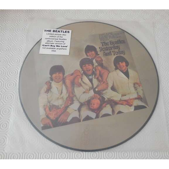 the beatles Vinyl, LP, Album, Picture Disc, yesterday and today