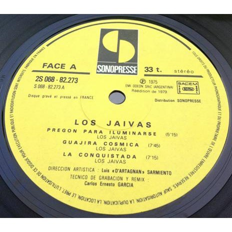 JAIVAS (Los) / LOS JAIVAS Los Jaivas (French second press - 1979)