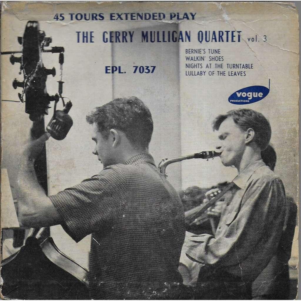 Gerry MULLIGAN Quartet Bernie's tune