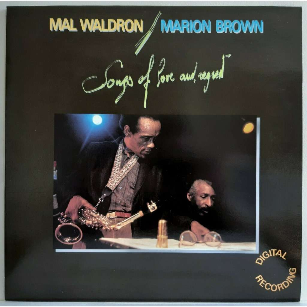 mal waldron marion brown Songs Of Love And Regret