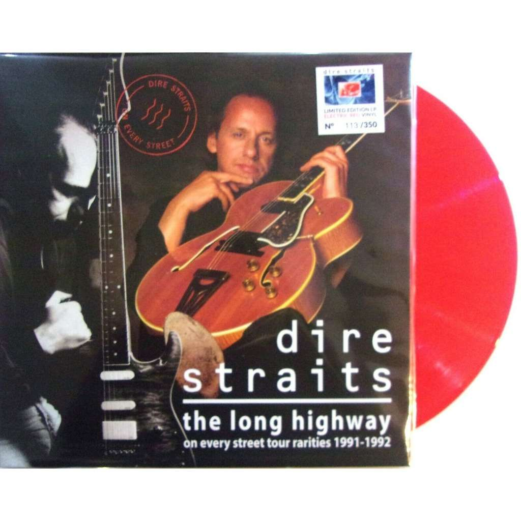 Dire Straits The Long Highway (On Every Street Tour Rarities 1991-1992) (lp) Ltd Edit 350 Copies & Red Vinyl -USA