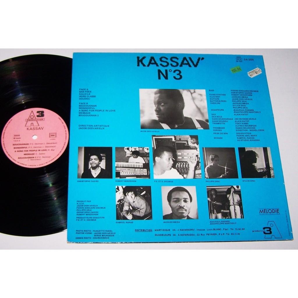leader: jacob desvarieux kassav N°3