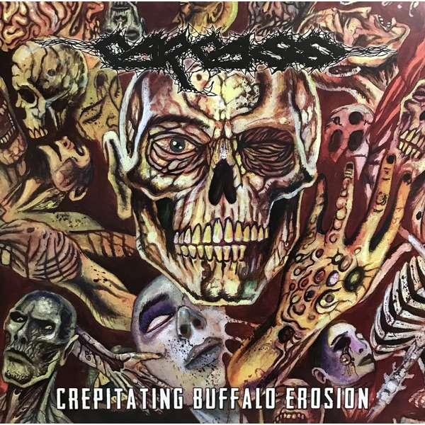 Carcass Crepitating Buffalo Erosion (lp) Ltd Edit 250 Copies & Yellow Vinyl -USA
