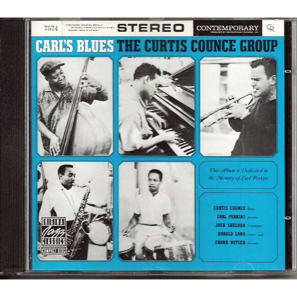 CURTIS COUNCE GROUP CARL'S BLUES