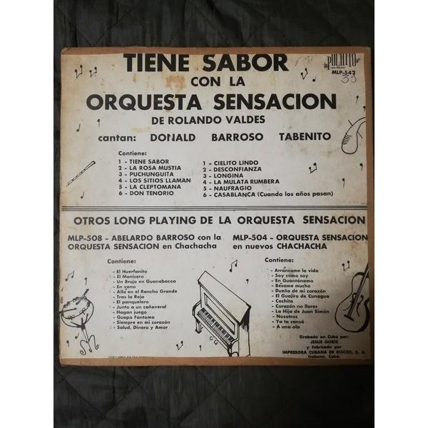 Orquesta Sensacion Tiene Sabor
