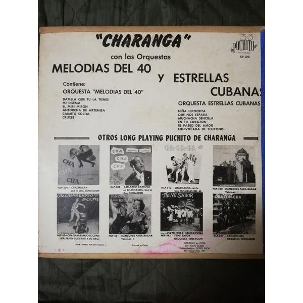 Orquesta Estrellas Cubanas y Melodias del 40 Charangas
