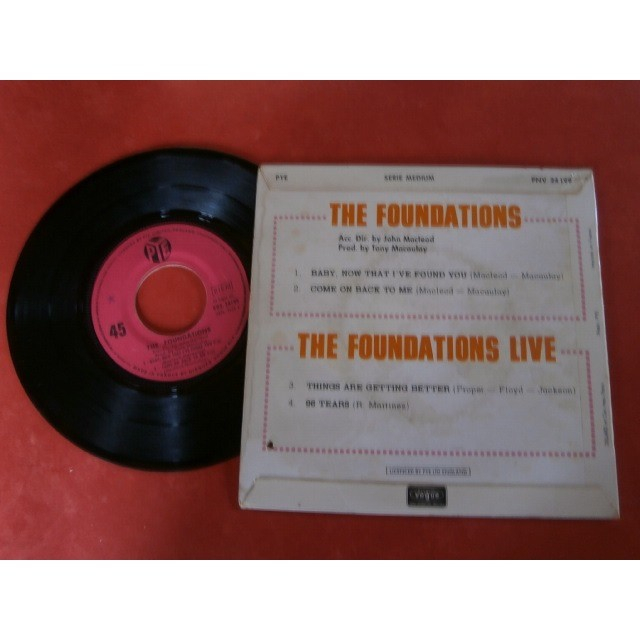 The foundations Baby, now that I've found you