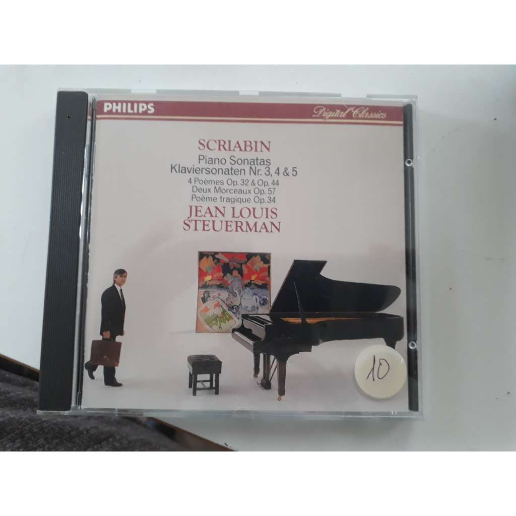 Scriabin / jean louis steuerman Piano sonatas / 4 poemes / 2 morceaux / poeme tragique