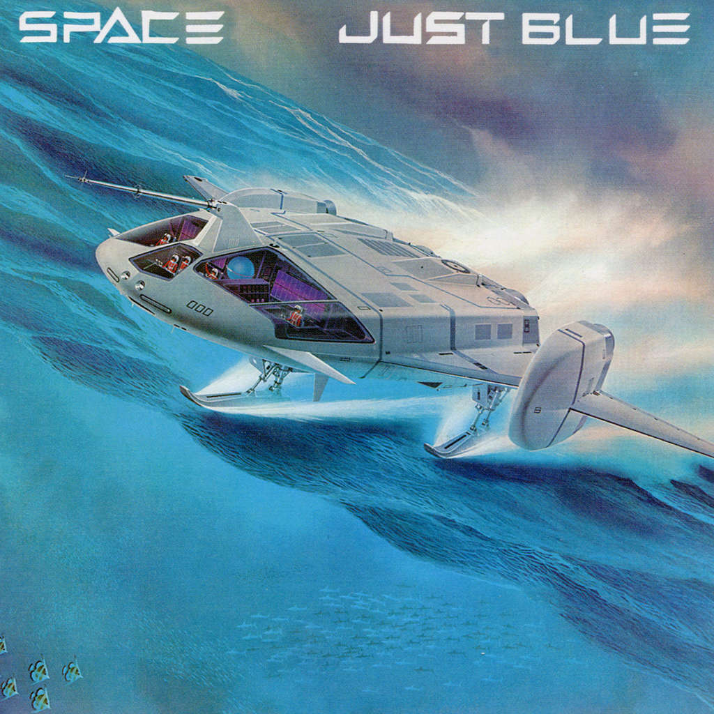Space just blue