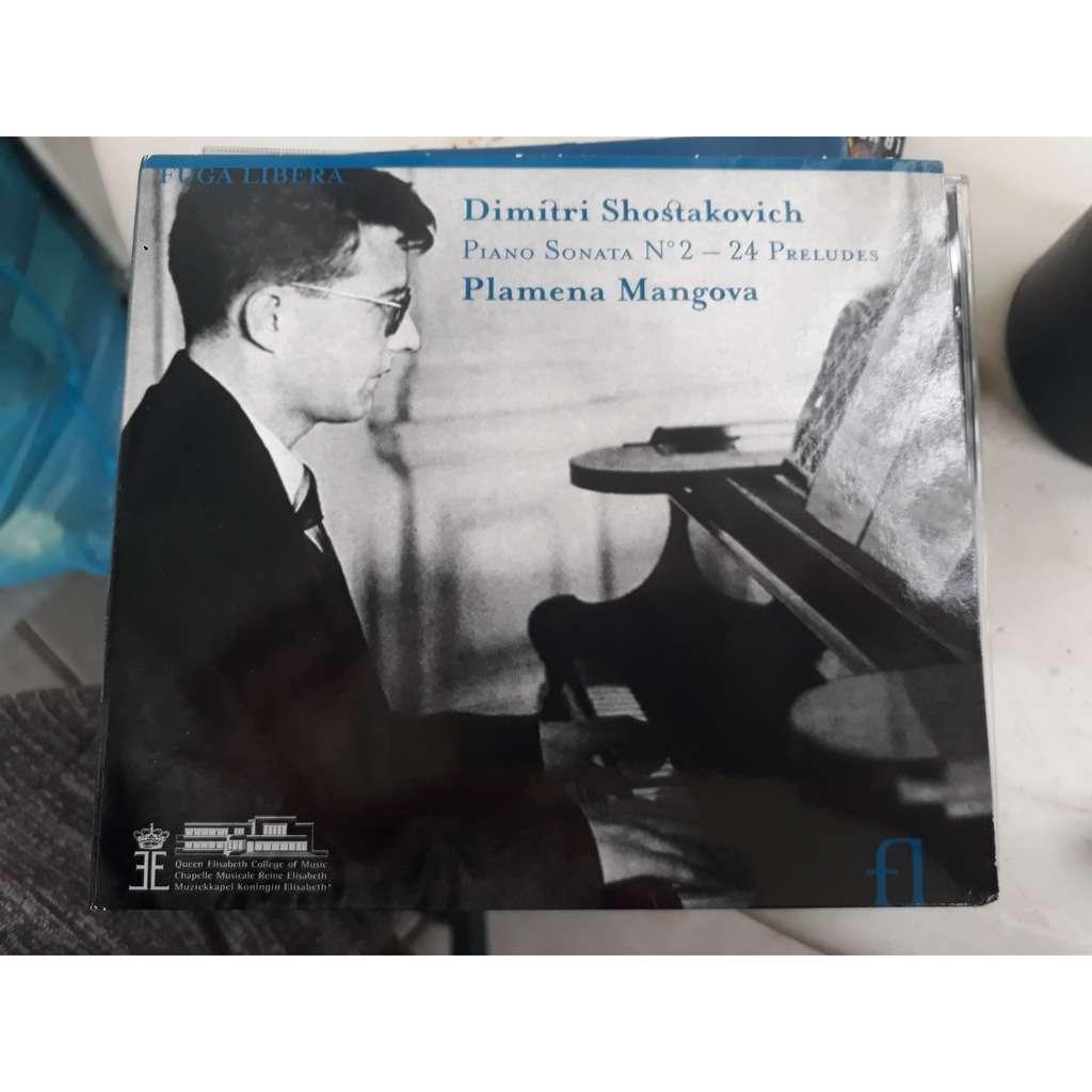 PLAMENA MANGOVA SHOSTAKOVICH: SONATE PIANO N°2