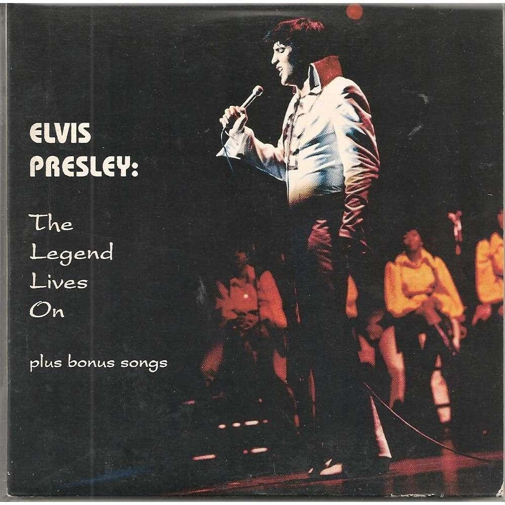 elvis presley 1 cd the legend lives on 18 unreleased live 1969/72