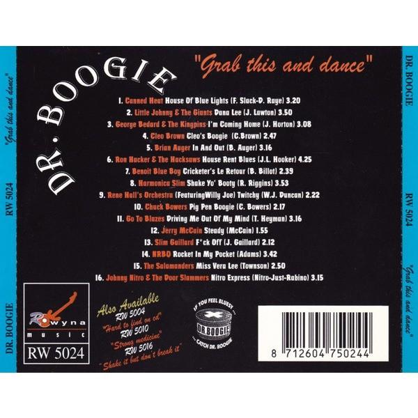 Harmonica Slim, Slim Gaillard, Chuck Bowers, NRBQ Dr. Boogie - 4 - Grab This And Dance