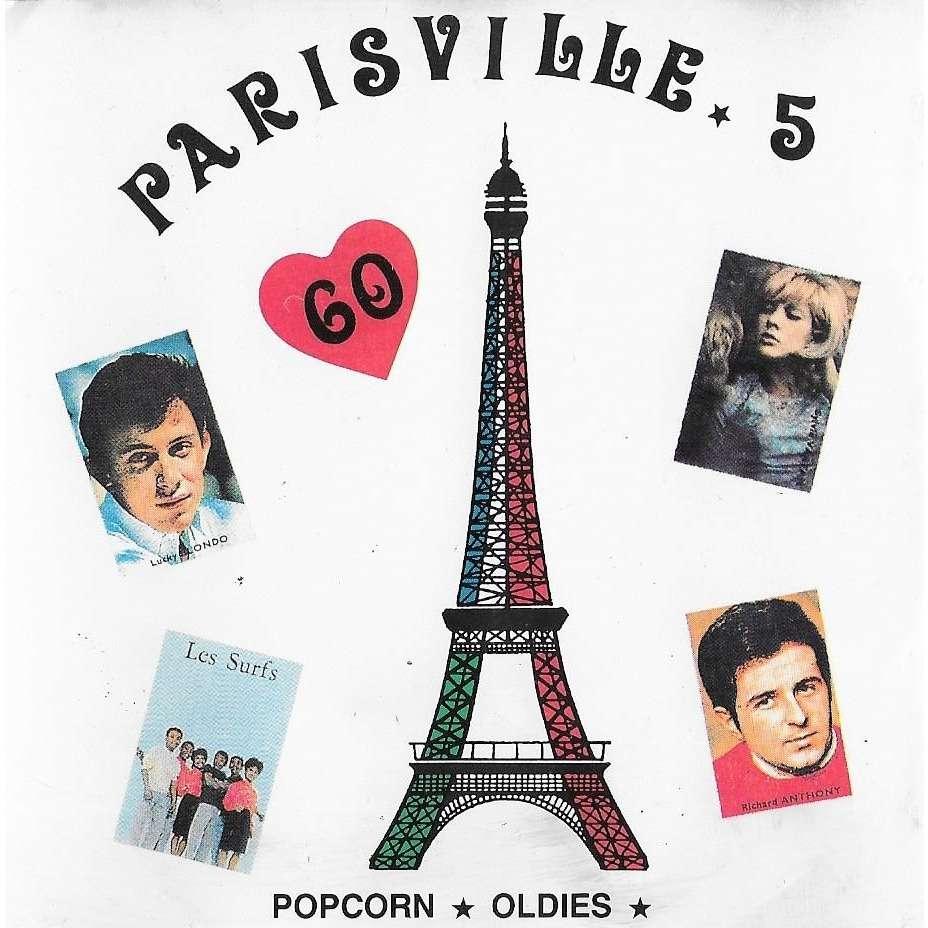 Sylvie Vartan, Adamo, Rita Pavone, Les Formidables Paris Ville 5 - Popcorn - Oldies