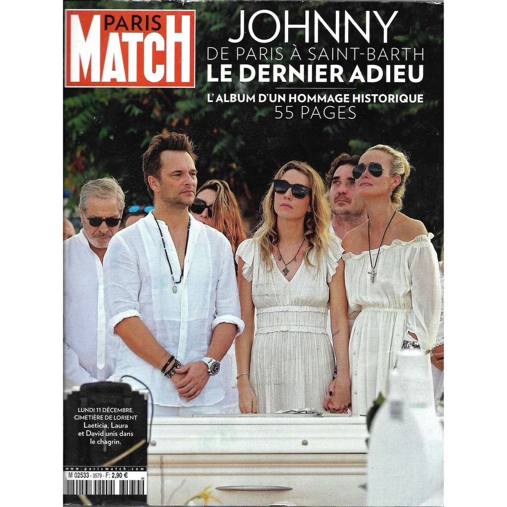 Hallyday Johnny Paris match