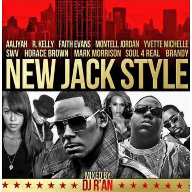 Dj r'an NEW JACK STYLE (best of)‏